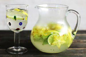 スターフルーツの果実水