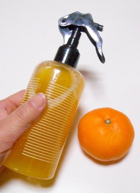 みかんの皮の洗剤