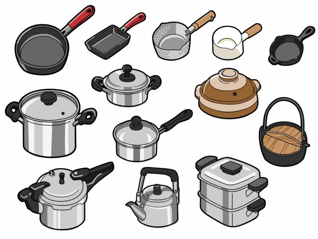 圧力鍋と無水鍋の違いは?種類と素材を調べてみた